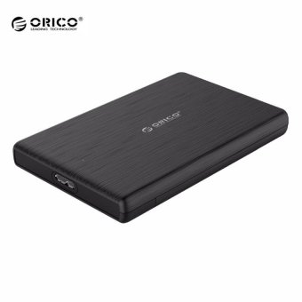 ORICO 2.5 Inch HDD Case USB3.0 Micro B External Hard Drive DiskEnclosure High-Speed Case for SSD Support UASP SATA III(Black) -intl