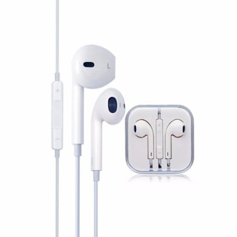 Original Apple EarPods with 3.5 mm Headphone Plug for Iphone (5/6)/Ipad / Ipod + Original Lightning to 3.5mm Headphone Jack for Iphone7/ 7plus - intl - 2