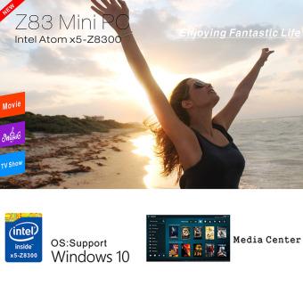 Original Beelink Z83 Windows 10 Mini PC Intel Atom x5-Z8300 64 bit2G/32G 4K XBMC TV Box 1000M LAN 2.4G/5.0G WiFi H.265 Bluetooth 4.0HD Media Player EU Plug - 5
