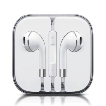 Original Earphones For Phone Earphone In Ear Earphone Earbuds Bass Headset audifonos With Mic - intl