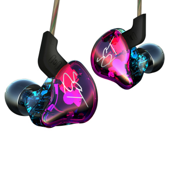 Original KZ ZST Colour Balanced Armature+Dynamic Hybrid Dual Driver Earphones HIFI Earbuds Bass Headset In-ear Earphones Without Microphone - intl