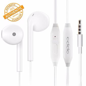 Original Oppo Headset Wire Control r7 / r7plus / r9 / r9s / r11Mobile Phone Headset R11 (White)