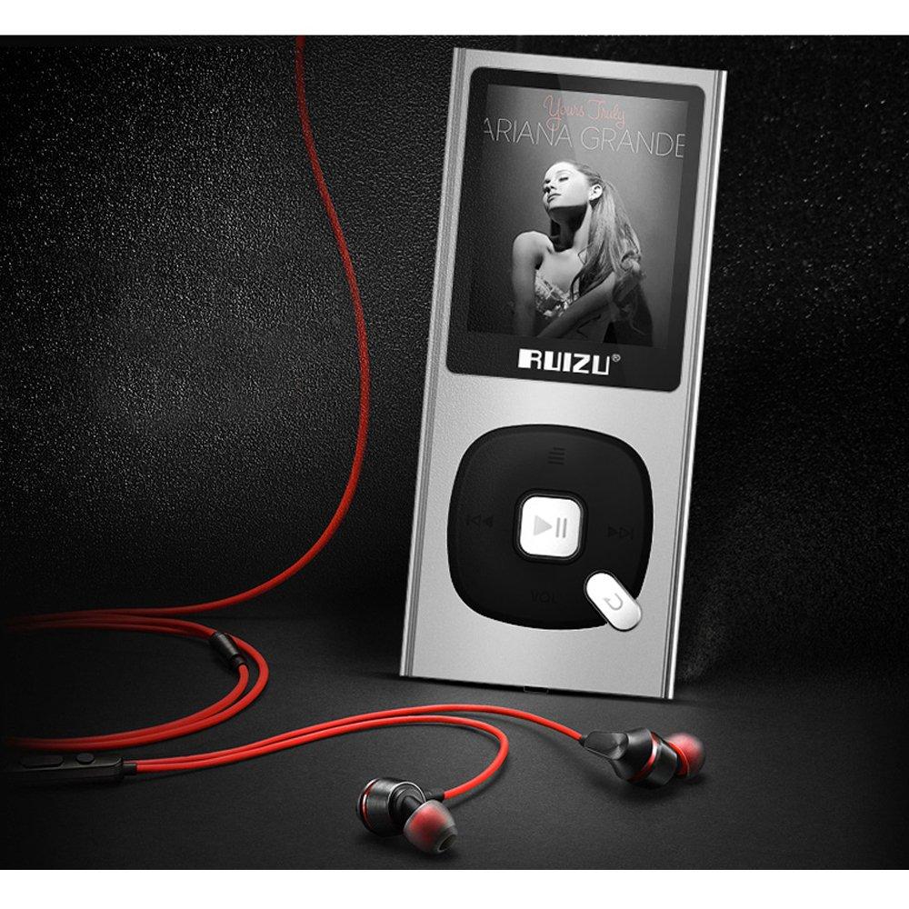 Original RUIZU X28 MP3 Player 8GB MP3/WAV/APE/WMA/FLAC High ...