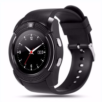 Original Sport Watch Full Screen Smart Watch V8 For Android Match Smartphone Support TF SIM Card Bluetooth Smartwatch PK GT08 U8 - intl