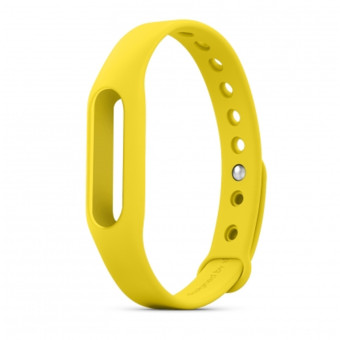 Original Xiaomi Wrist Band for Smart Bracelet MI band 1A/1s -Yellow - intl