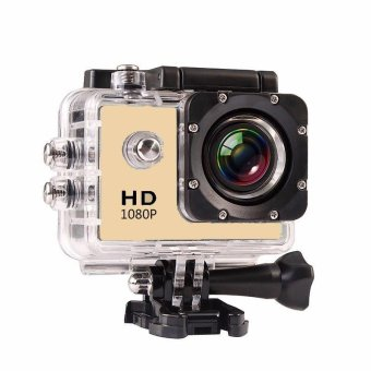 Outdoor Sport Mini Camera 1080P Full HD DV Sport Action Camera Bike Helmet Video Cam 30M go waterproof Pro Case Retail Box - intl Price Philippines
