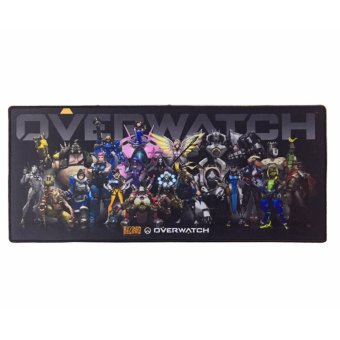 Overwatch Comfort Blizzard Gaming Keyboard MousePad Mouse Pad(Gray)