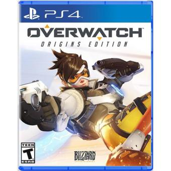 OVERWATCH ORIGINS EDITION PS4 GAME R3 MINT CONDITION