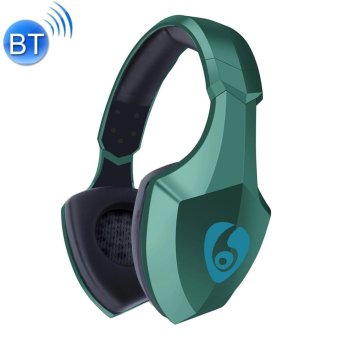 Ovleng S33 Wireless Stereo Bluetooth 4.0+EDR Headphones Portable Headset with LED Flash Light for iPhone and Android Devices (Green) - 5