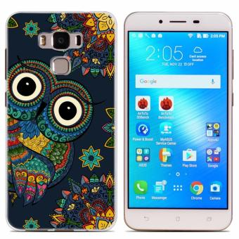 Owl design Tpu soft slim case for Asus Zenfone 3 Max 5.5''/ZC553KL