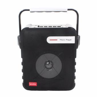 P-23 Digital Multimedia Wireless Portable Bluetooth Speaker with FM& TF Card Function (Black) - 5