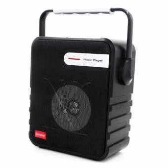 P-23 Digital Multimedia Wireless Portable Bluetooth Speaker with FM& TF Card Function (Black) - 2