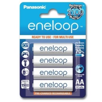 Panasonic Eneloop Battery 'AA' (Pack of 4)
