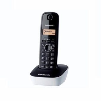 Panasonic KX-TG1611 Cordless Telephone (White)