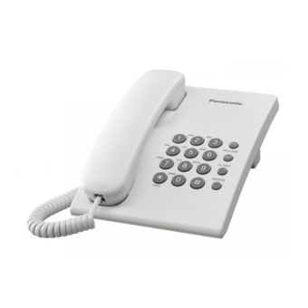 Panasonic Telephone KX-TS500MX White