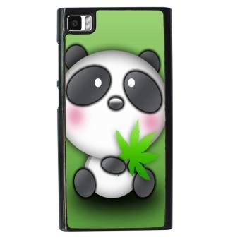 Panda Cute Pattern Phone Case for Xiaomi Mi3 (Green)