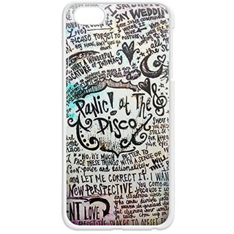 Panic At The Disco For iPhone and samsung galaxy case (iPhone 5/5sWhite) - intl Price Philippines