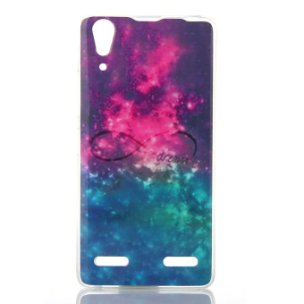 Patterned IMD TPU Back Case for Lenovo A6000 - Infinite Dream - intl