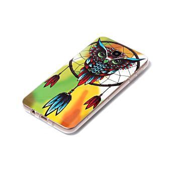 Patterned TPU Noctilucent Case for Samsung J7 Prime/On7 2016 - Owland Dream Catcher - intl - 3
