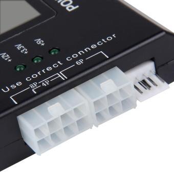 PC Computer LCD 20/24 Pin 4 PSU ATX BTX ITX SATA HDD Digital PowerSupply Tester - intl - 4