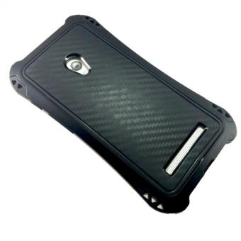 PC Silicone Shockproof Cover Case For Asus Zenfone 5 (Black)