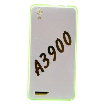 PC/TPU Back Case For Lenovo A3900 (Green)