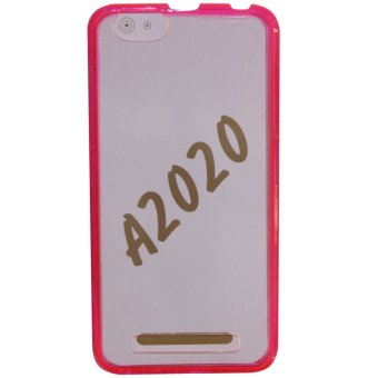 PC/TPU Senior Back Case For Lenovo A2020 (Pink) - picture 2