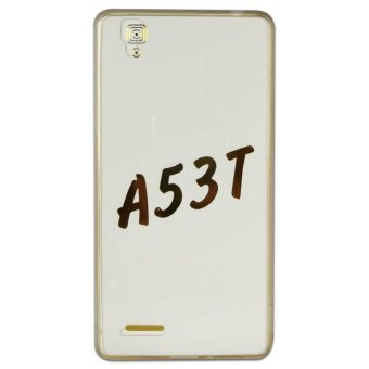PC/TPU Senior Back Case For Oppo A53T (Acrylic Gold)