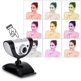 PC Video Record HD Night Vision Webcam Web Camera with MIC forComputer Laptop - intl - 3