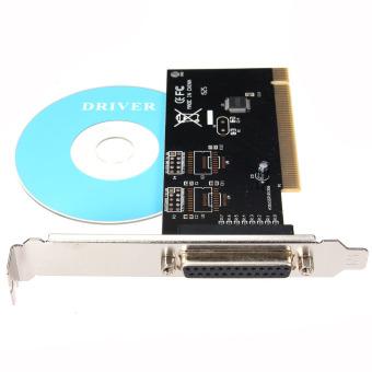 Image Detail PCI I/O Parallel Port DB25 25 Pin IEEE 1284 Printer Card ControllerAdapter