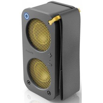 Philips BR1X Wireless Bluetooth Portable Speaker (Grey)