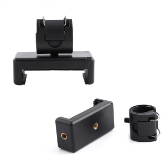 Phone Fixed Clip Grip Adapter Selfie Stick Tripod Holder Buckle Adapter Mount For Gopro Hero 4 - intl