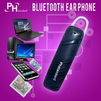 PHStandard Bluetooth Stereo Smartphone Headset for Android (Black)