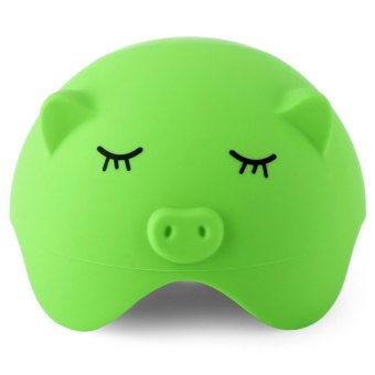 Pig Style Silicone Suction Stand Cable Storage (Green)