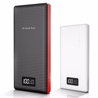 Pineng PN-969 20000mah Powerbank (Black/Red) with Pineng PN-963 10000mah Powerbank (White)