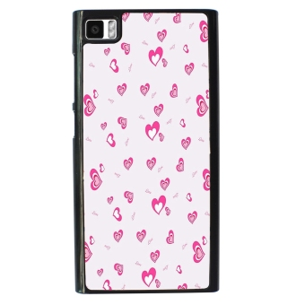 Pinky Bow Pattern Phone Case For Xiaomi Mi3 (Black)