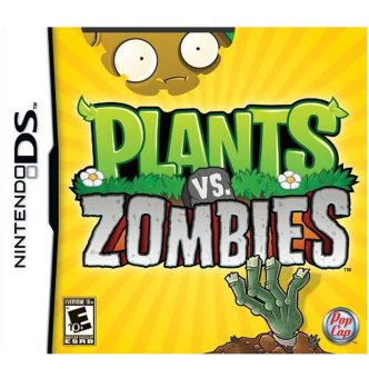 Plants Vs. Zombies - Nintendo DS - intl