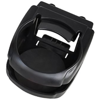 Plastic Clip-on Air Vent Mount Car Drink Cup Bottle CellphoneHolder Stand for Most Car Black (Intl) - intl