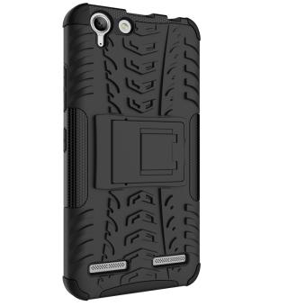 Plastic + TPU Case for Lenovo VIBE K5/K5 Plus (Black) - 3