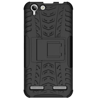 Plastic + TPU Case for Lenovo VIBE K5/K5 Plus (Black)