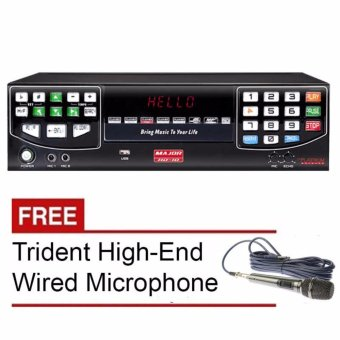 PLATINUM HD10-MAJOR KARAOKE HARD DISK PLAYER (BLACK) Free TridentHigh-End Microphone TR-97 Price Philippines