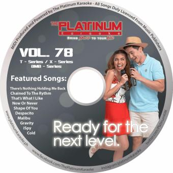 PLATINUM Kapitan T-Series/X-Series/BMB-Series VOLUME 78 CD(Septmeber 2017 RELEASE)2 Price Philippines