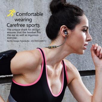 Plextone BX343 Wireless Headphone IPX5 Waterproof Dual Battery 8 Hours music time Bluetooth Sport Earphone for Running - intl - 4