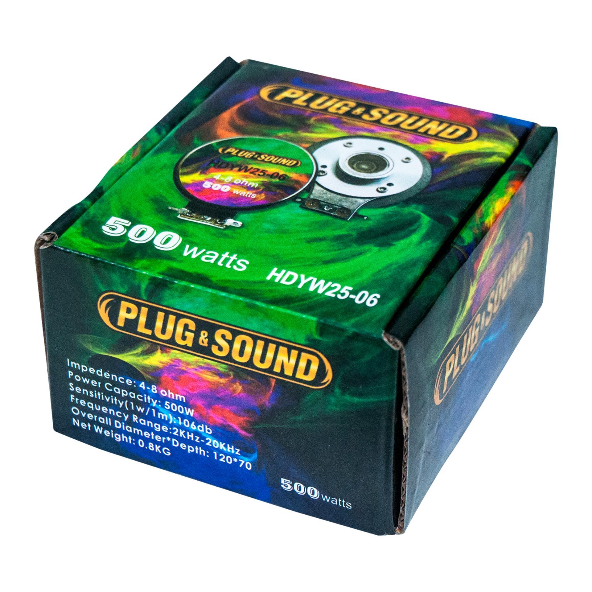PLUG & SOUND Compression Driver Unit ...