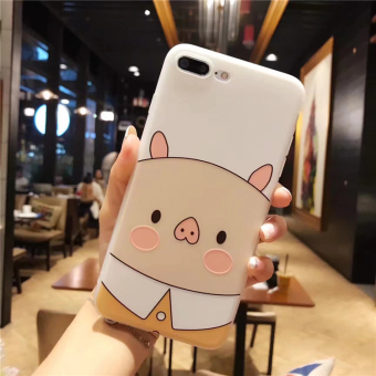 Plus iphone6 cute bunny pig phone case