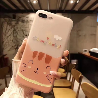 Plus iphone6 cute hippo cat phone case