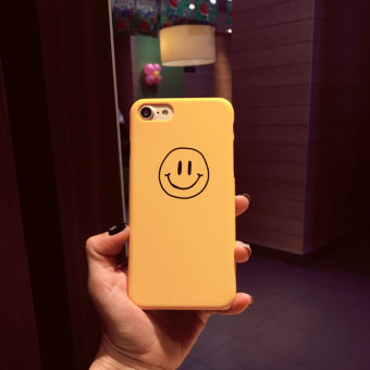 Plus iphone7/6 plus Apple matte smiley phone case