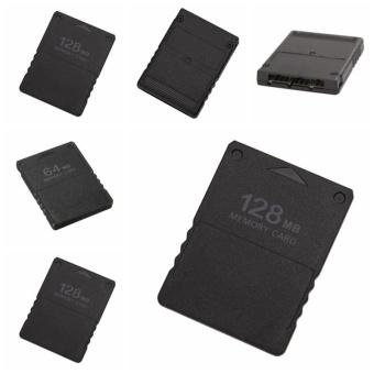 Popular 64MB &128MB Memory Card For Sony PlayStation 2 PS2 SlimConsole Data Stick 64MB Memory -