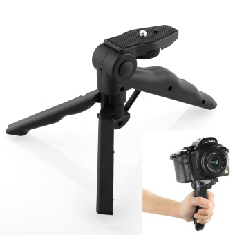 Portable 2 in 1 Handheld Grip Mini Tripod for Digital Camera Camcorder
