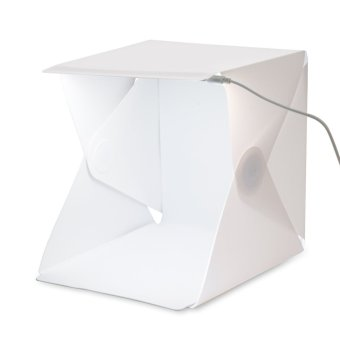 Portable Mini Foldable LED Photo Studio Photography Tent BackdropLight Box Accessories - intl